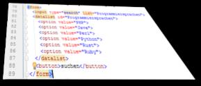 HTML Formular erstellen